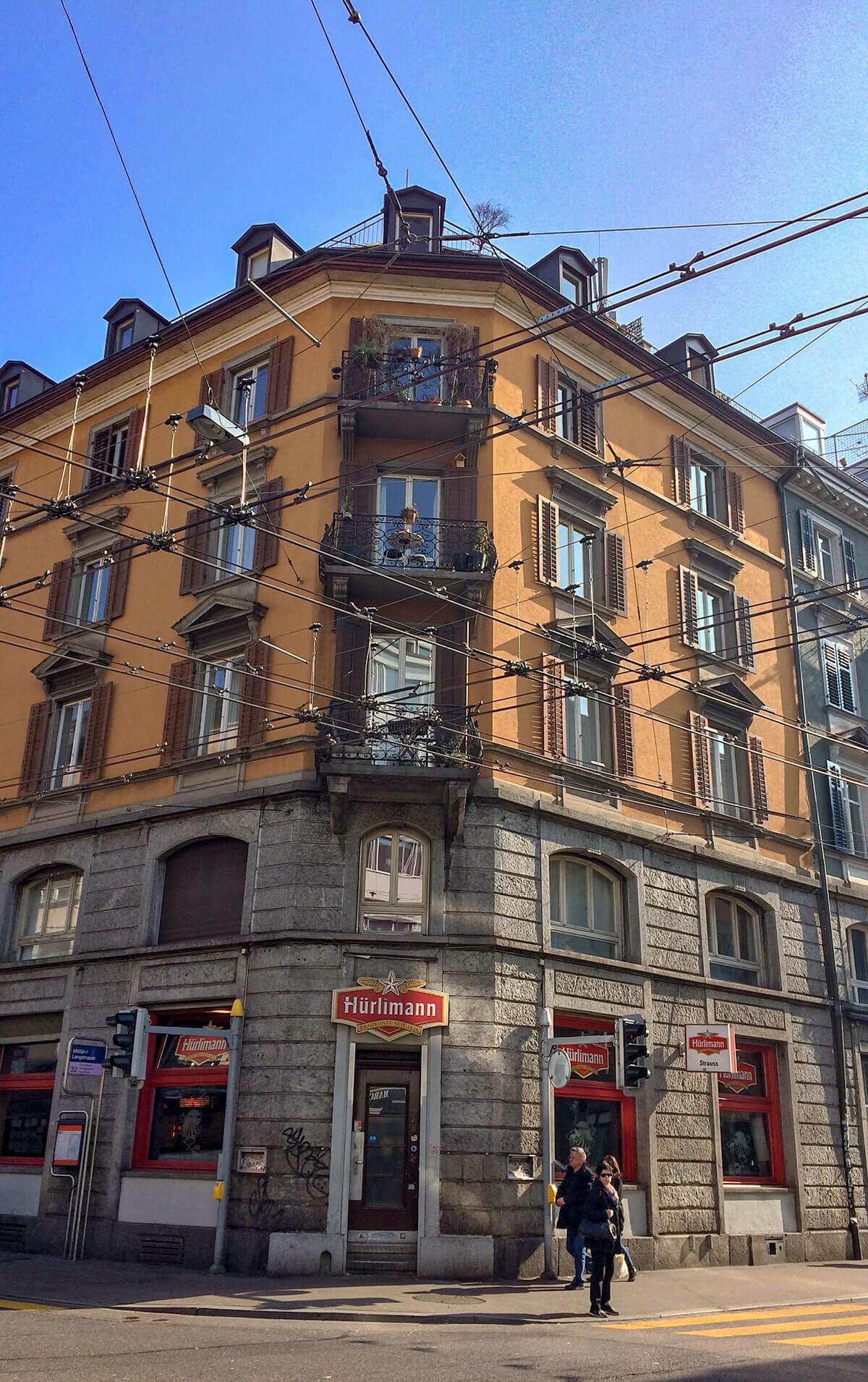 Zürich Tram Städtereise