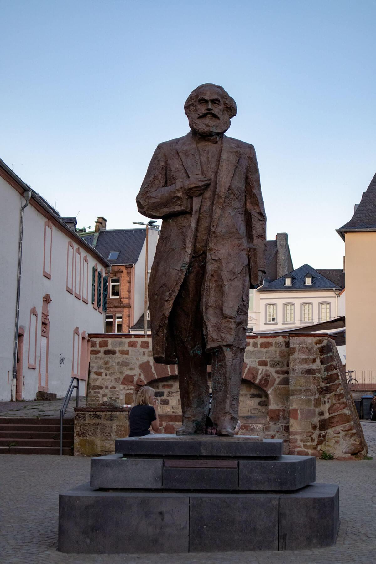 Karl Marx Statue Trier