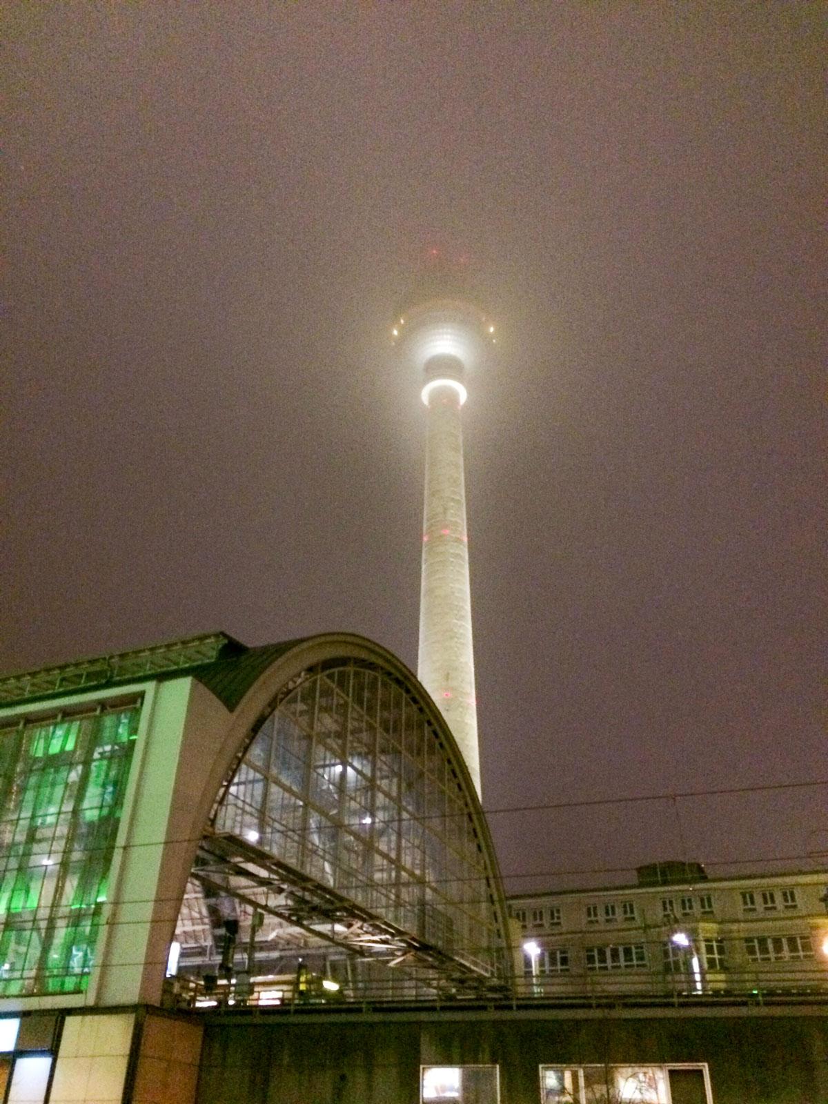 Nachts am Alex, Berlin