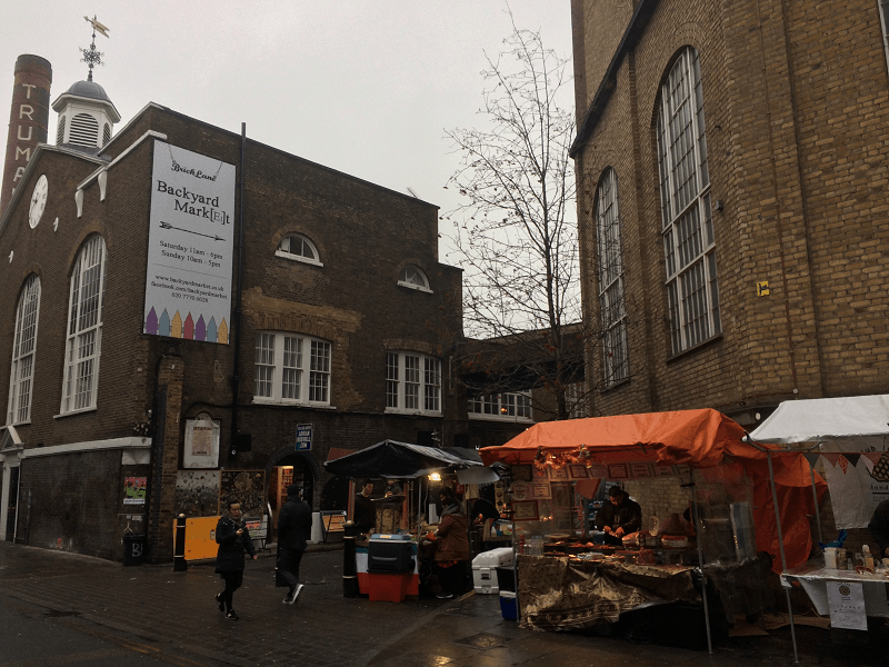 backyard market london