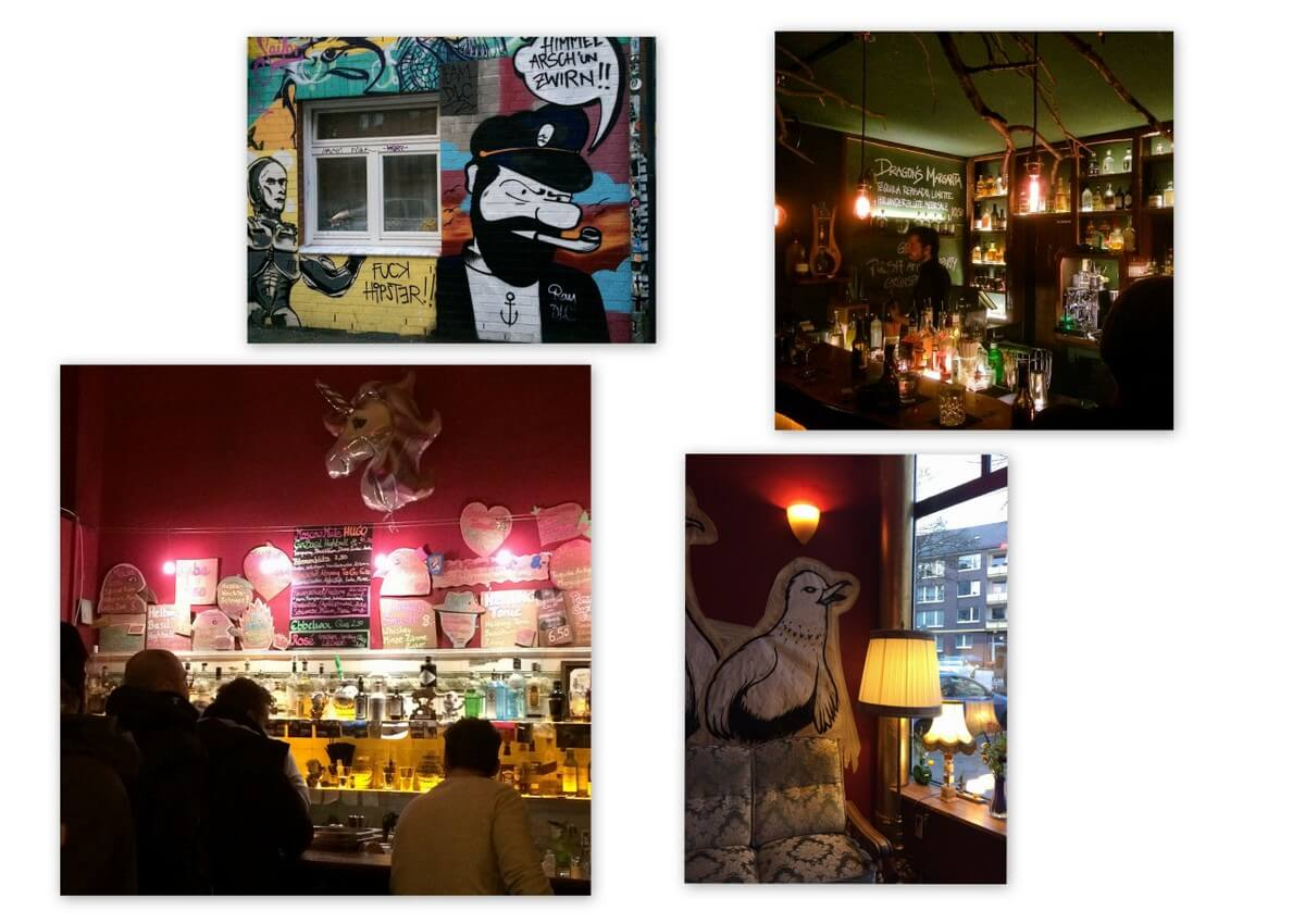 Bars in Hamburg
