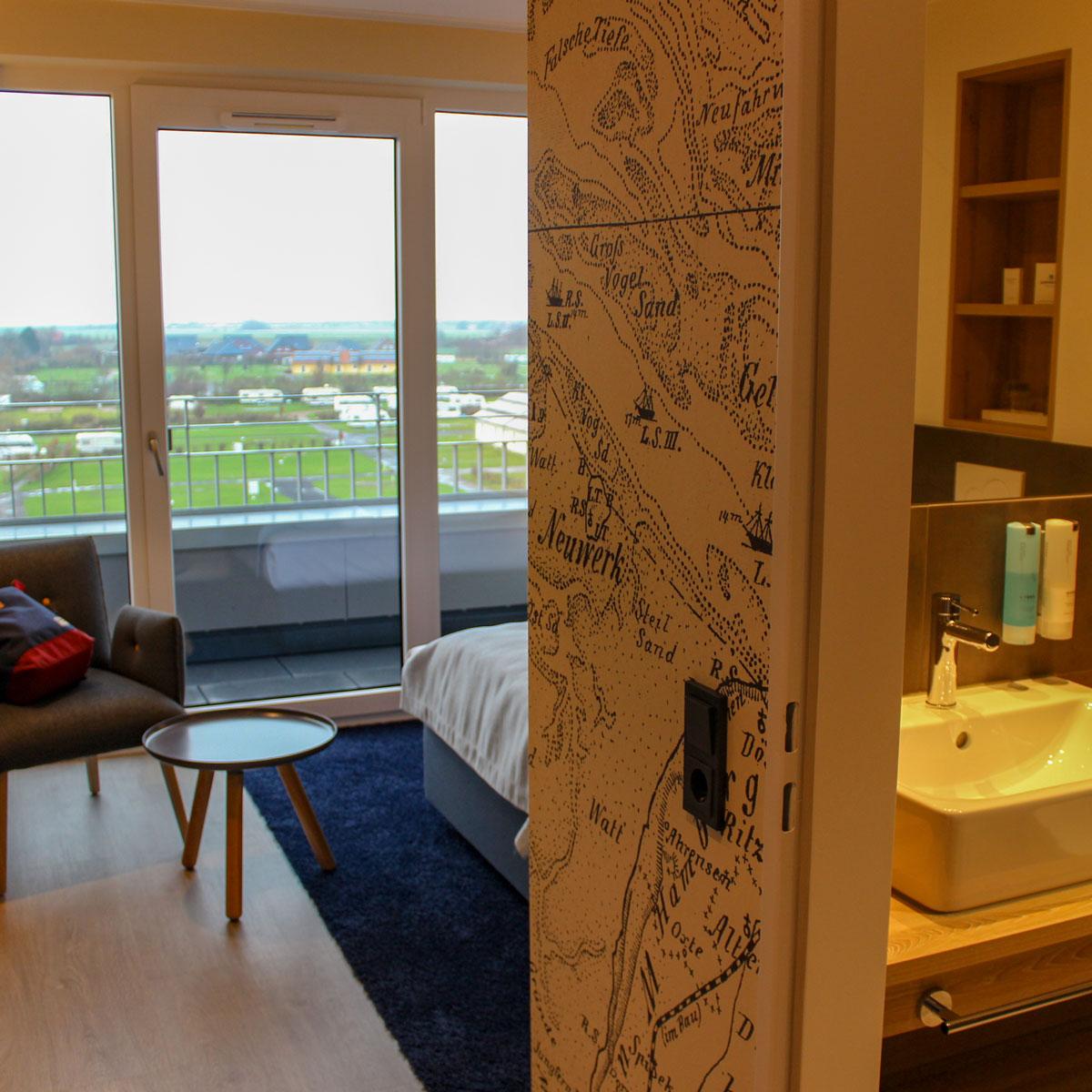 Hotelzimmer Küstenperle