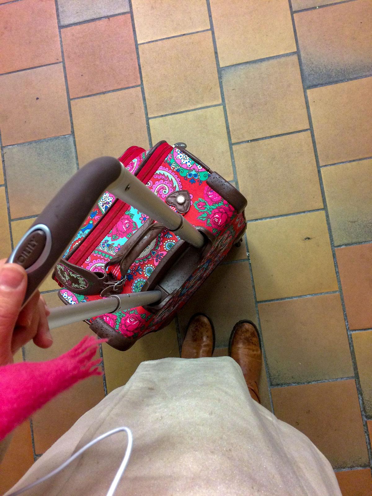 Ankunft in Büsum mit dem Zug