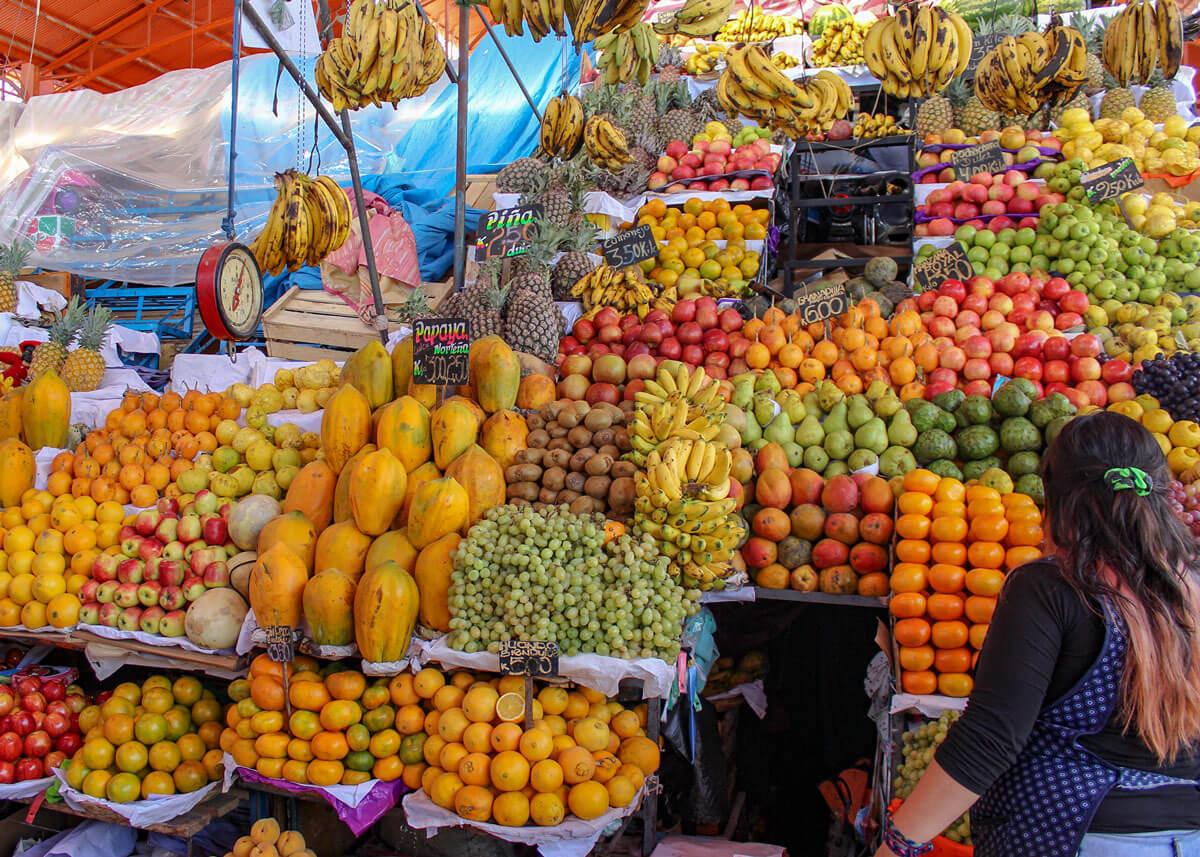 Arequipa San Camilo Früchtestand