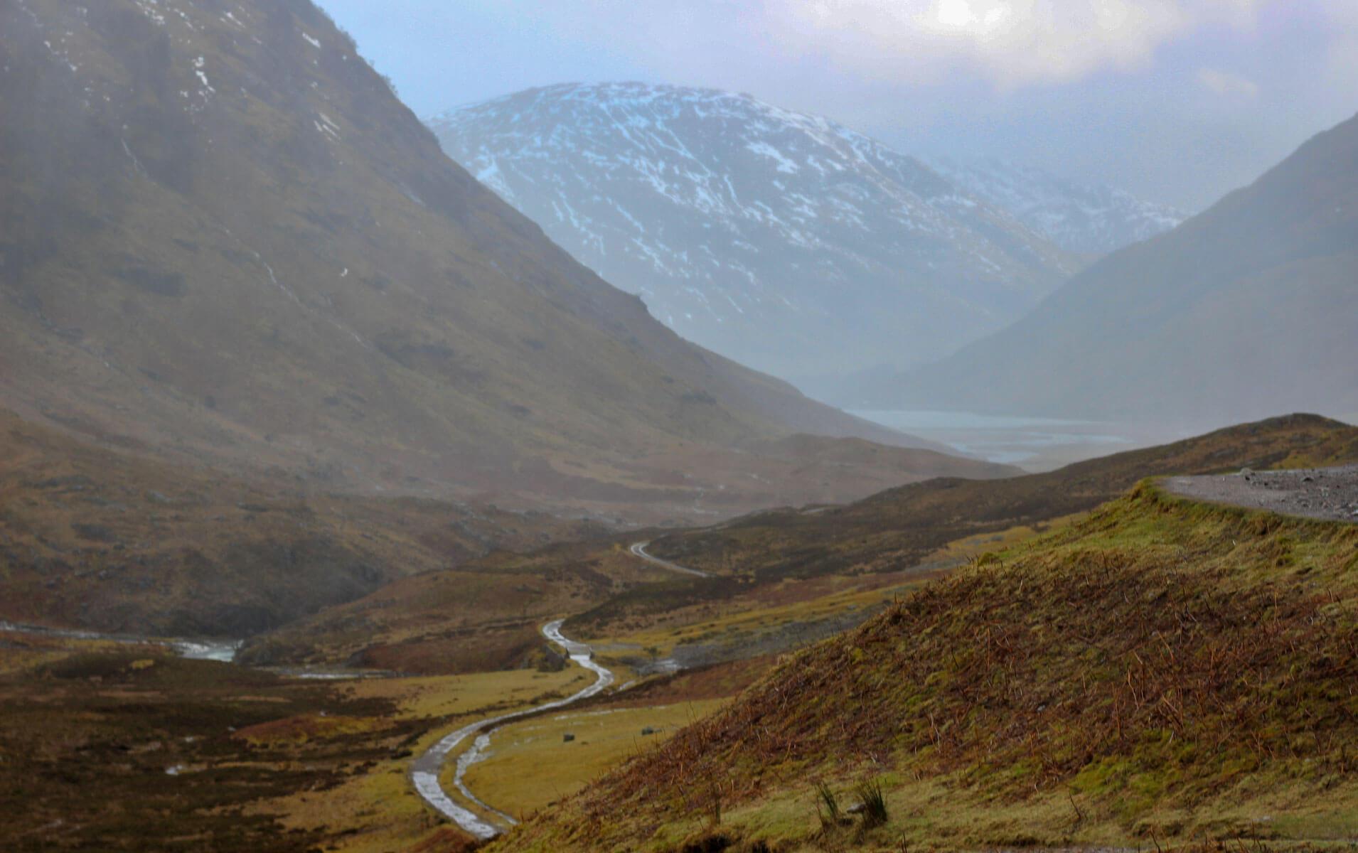 Glencoe Schlucht Schottland