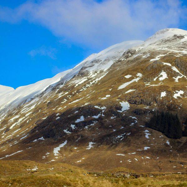 Winterreise durch Schottland