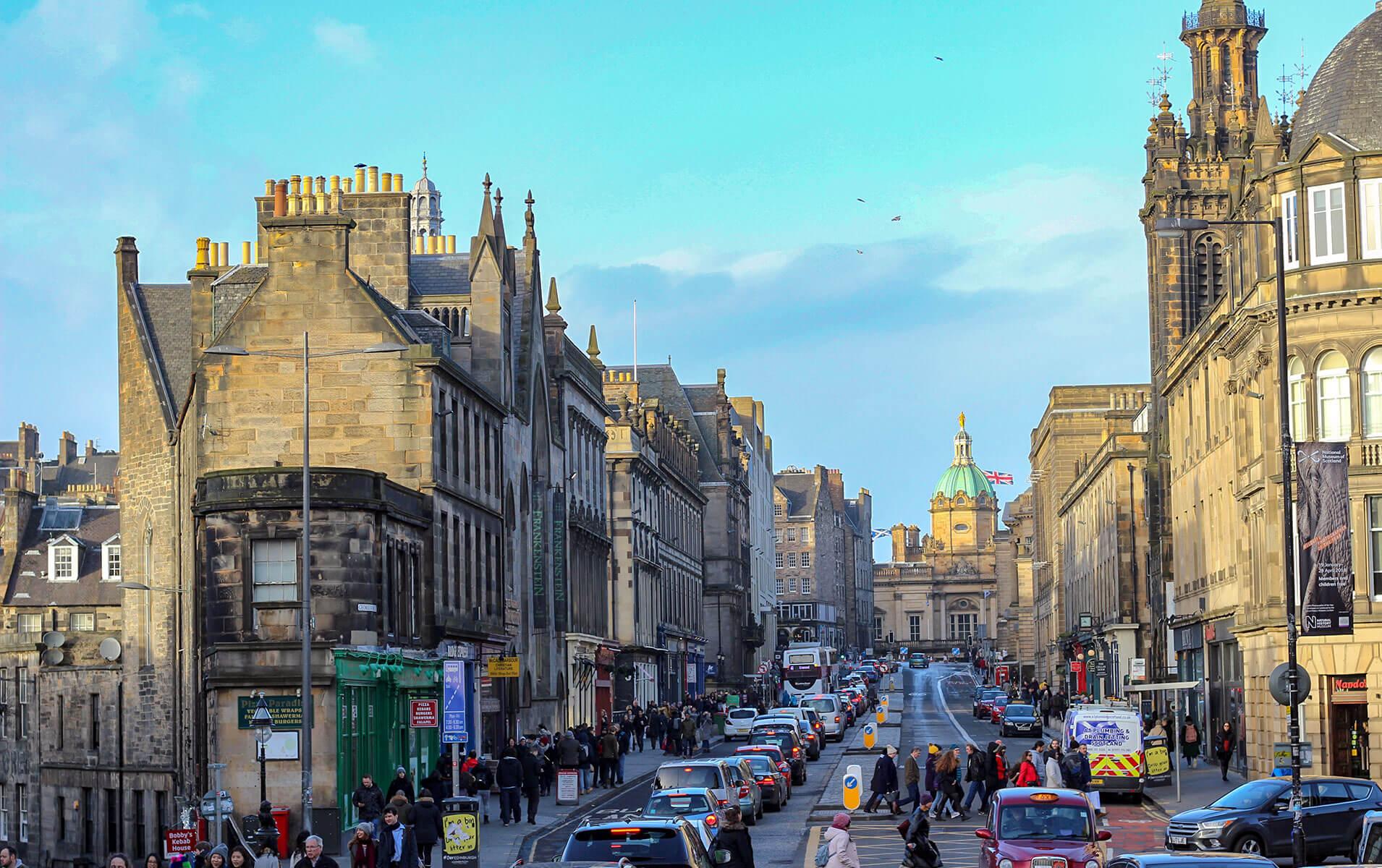 Edinburgh Altstadt