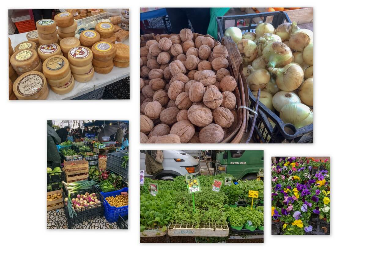 Marktbesuch in Estremoz