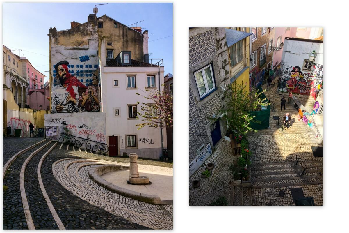 Lissabon Street Art Alfama