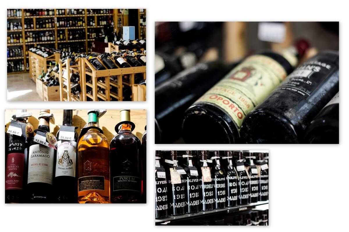 Lissabon Weinladen