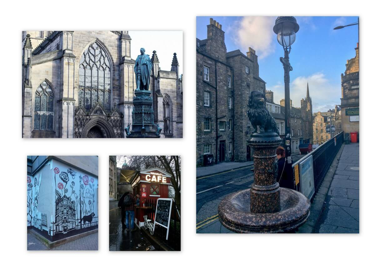 Edinburgh St Giles Cathedral, Greyfriars Bobby
