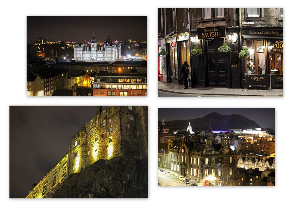 Sightseeing und Highlights Edinburgh