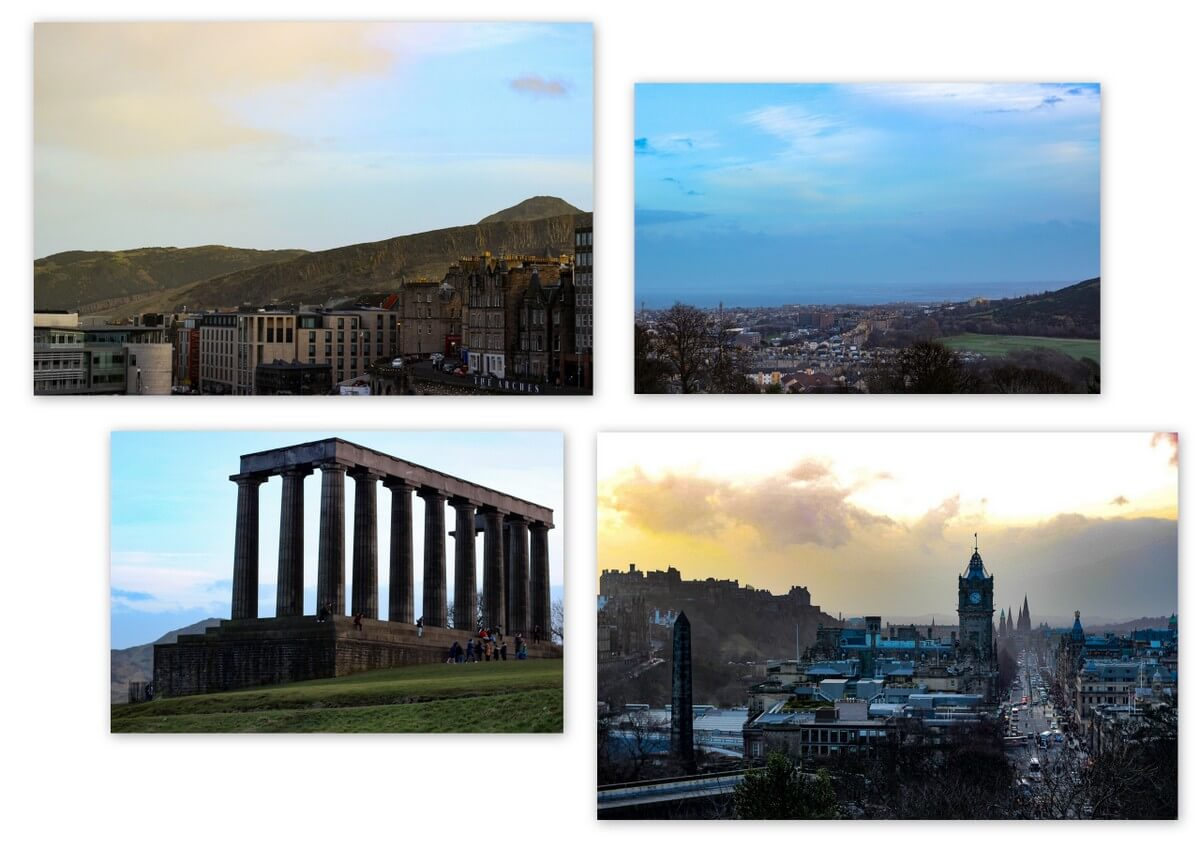 Edinburgh Highlight Calton Hill