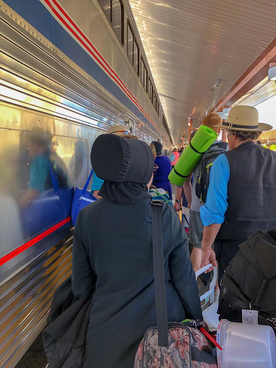 USA Zugreisende