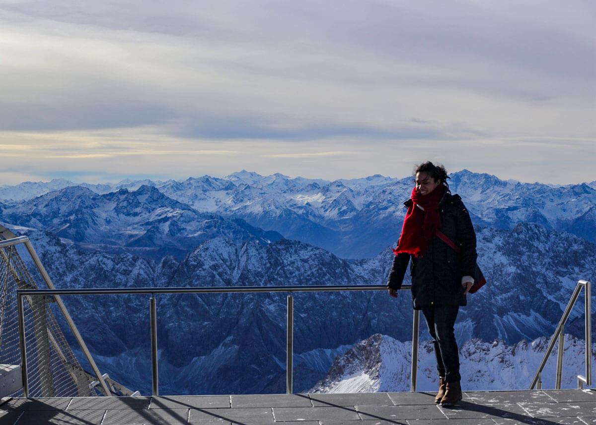 Reiseblog Bayern Alpen Zugspitze