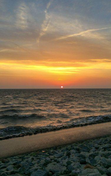 Sonnenuntergang Büsum