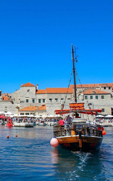Dubrovnik Hafen Schiff