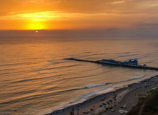 Sonnenuntergang Lima