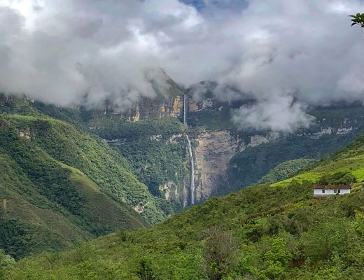 Gocta Wasserfall in Perus Norden