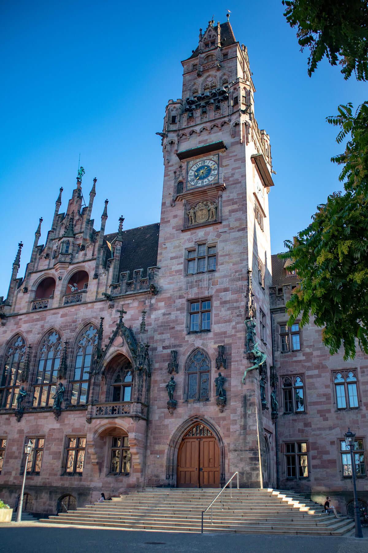Saarbrücken Rathaus Sankt Johann