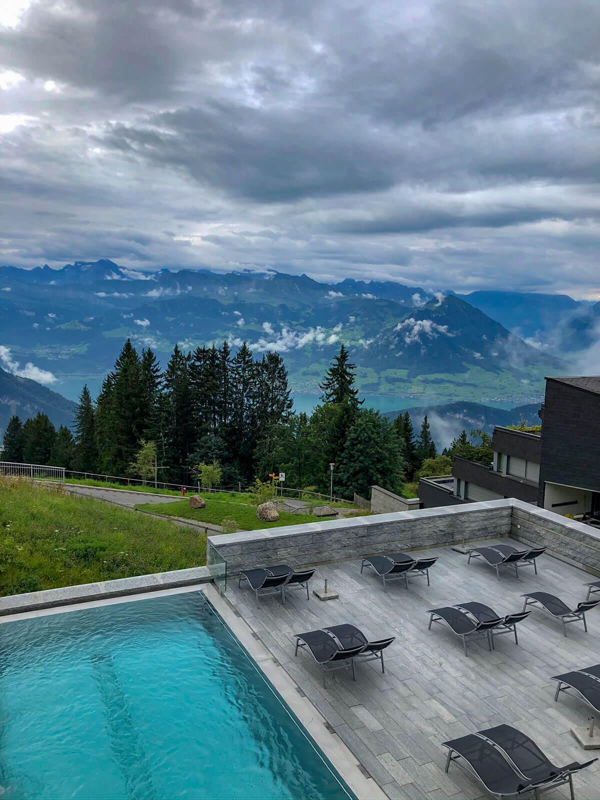 Hotel Rigi Kaltbad Spa und Pool