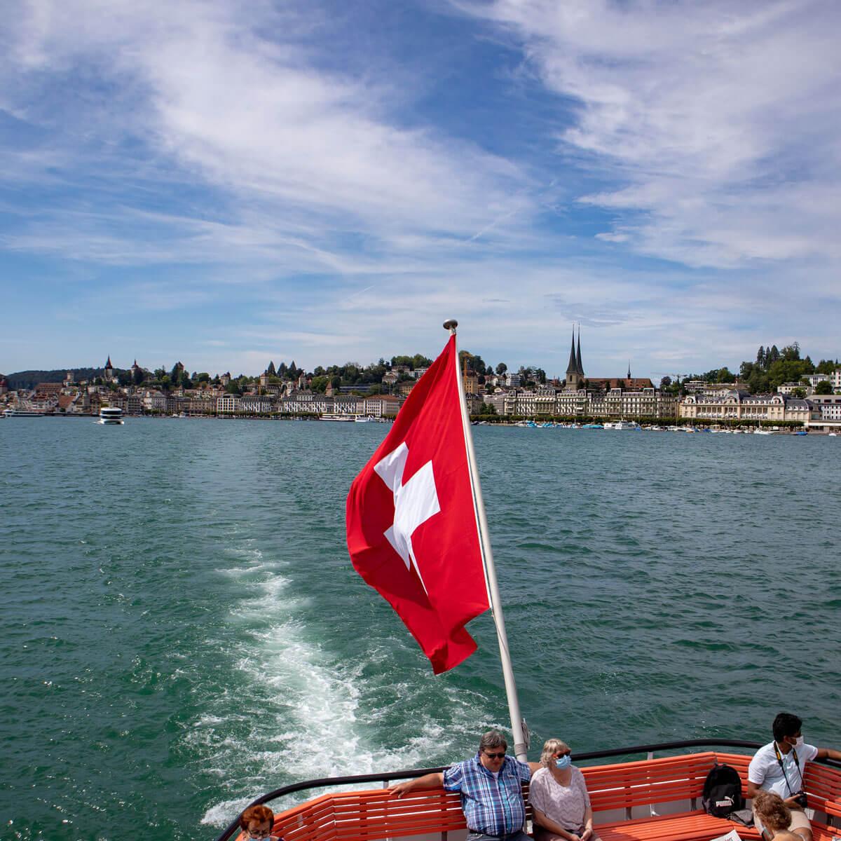 Schiffahrt ab Luzern