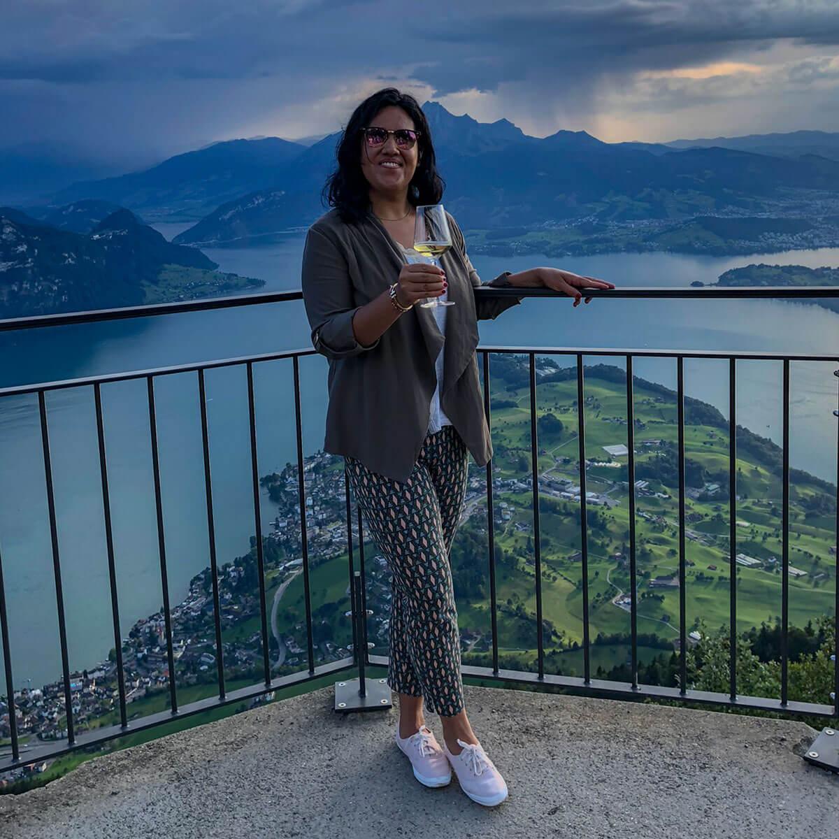 Bloggerin in der Zentralschweiz