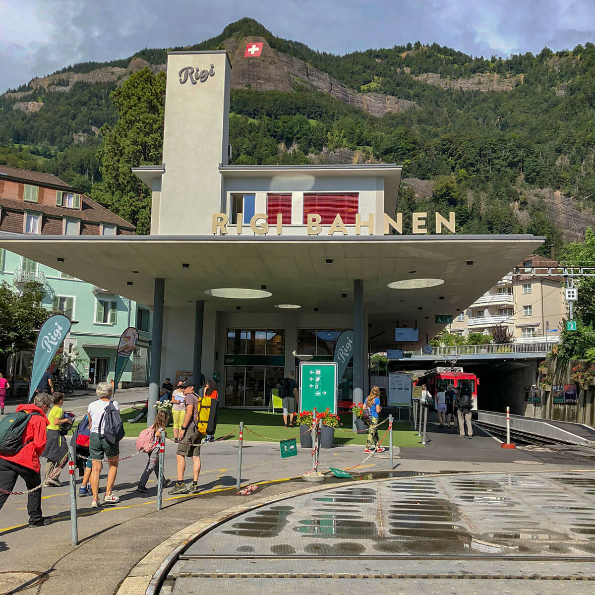 Vitznau Rigi Bahnstation