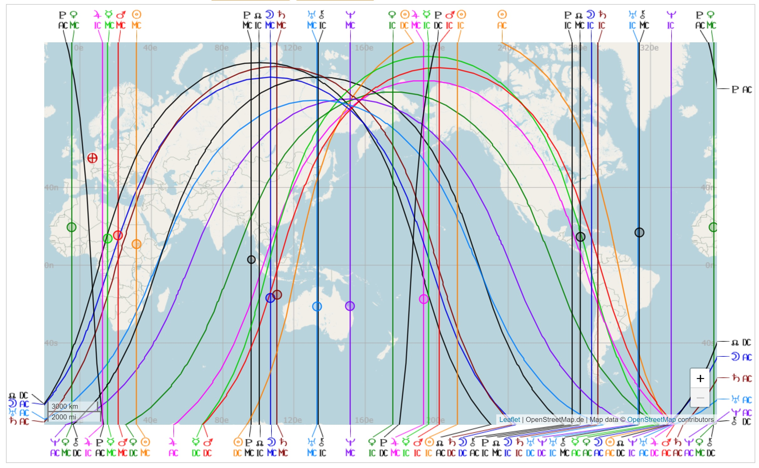 Astrogeography