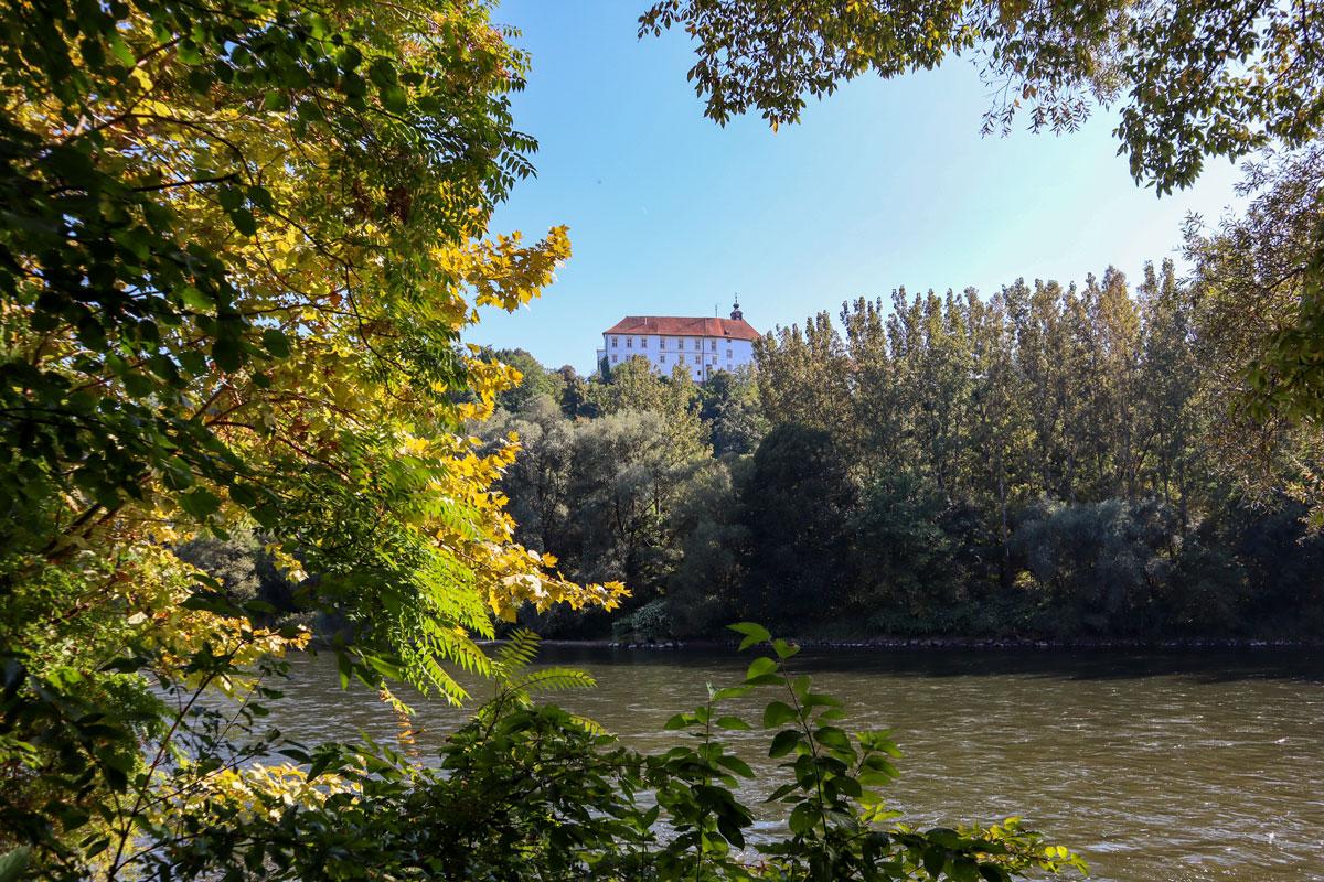 Blick auf Slowenien