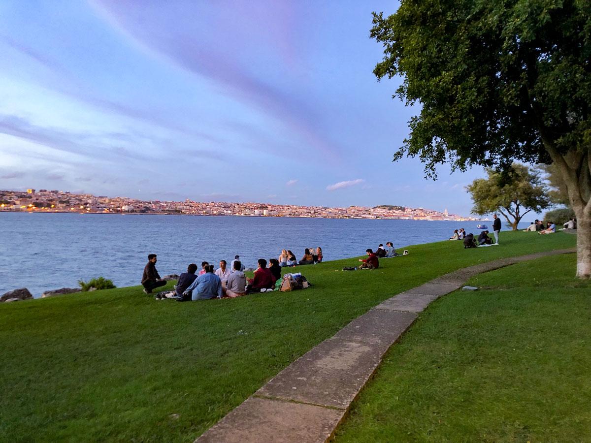 Jardim do Rio Almada Lissabon